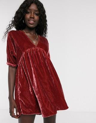 Free People ivy velvet dress