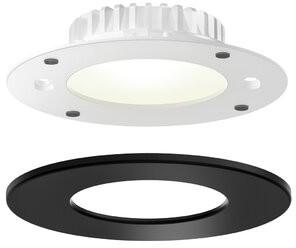 "Retrofit DALS Lighting Halo 4"" Open Recessed Trim LED Panel Light DALS Lighting Finish: Black"