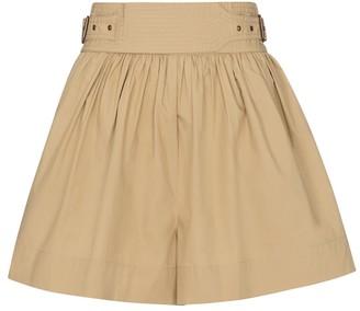 Ulla Johnson Adeline high-rise cotton shorts