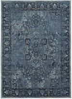 "Kenneth Mink Spectrum Mod Heriz Denim 5'3"" x 7'6"" Area Rug"