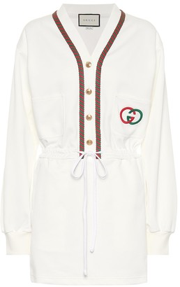 Gucci Technical jersey dress
