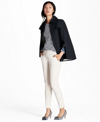 Brooks Brothers Water-Repellent Twill Cape Coat