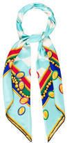 Tiffany & Co. Printed Silk Scarf