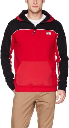 DC Men's Clewiston Pullover Hoodie FLECE Jacket