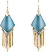 Alexis Bittar Lucite Fringe Drop Earrings