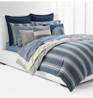 Lauren Ralph Lauren Gavin Stripe King Comforter Set Bedding