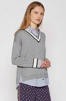 Joie Belva Layered Sweater