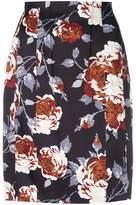 Theory hourglass high waist skirt