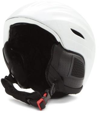 Perfect Moment Mountain Mission Star-print Ski Helmet - White Black