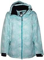 Pulse Women's Plus Size Insulated Snow Ski Jacket Honeycomb