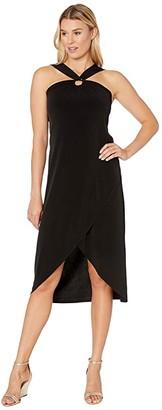 Tommy Bahama Carmela Halter Maxi Dress (Black) Women's Dress