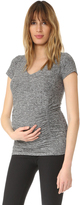 Beyond Yoga Featherweight Maternity V Neck Tee