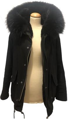 Ducie Black Coat for Women