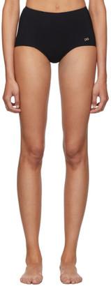 Dolce & Gabbana Black High-Rise Bikini Bottoms