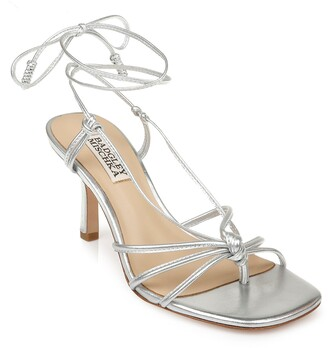 Badgley Mischka Jovial Leather Strappy Sandal