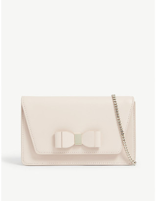 Ted Baker Keeiira leather clutch bag