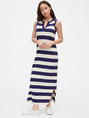 Gap Sleeveless Maxi Dress in Modal-Cotton