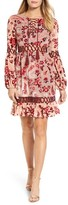 Kas Women's Ariana Velvet Burnout A-Line Dress