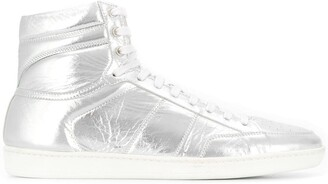 Saint Laurent Padded Hi-Top Sneakers
