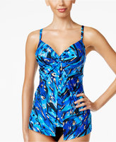 Miraclesuit Animal Magnetism Flyaway Underwire Tankini Top