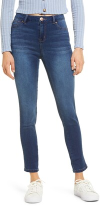 1822 Denim High Waist Butter Ankle Skinny Jeans
