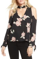 Cupcakes And Cashmere Women's Jon Cold Shoulder Blouse