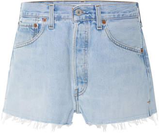 RE/DONE Vintage Levi's Denim Shorts
