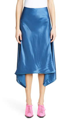 Sies Marjan Asymmetrical Satin Skirt