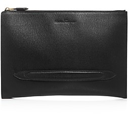 Salvatore Ferragamo Revival Leather Portfolio