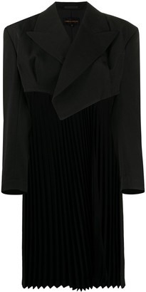 Comme Des Garçons Pre Owned 1980s Elongated Pleated Back Jacket