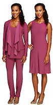 As Is Attitudes by Renee Regular Jersey Knit 4pc Wardrobe