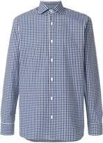 Z Zegna gingham-print shirt