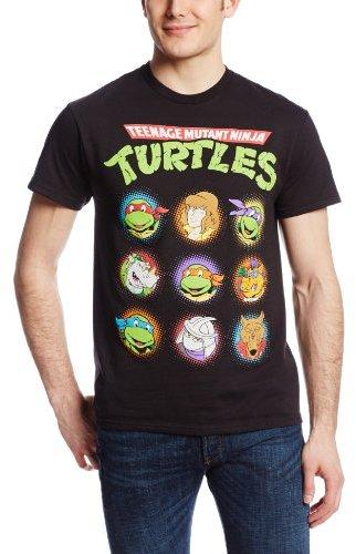 Freeze Nickelodeon Men's Ninja Turtles Circles T-Shirt