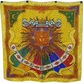Hermes Yellow Silk Silk handkerchief