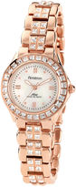 JCPenney Armitron Now Womens Rose-Tone Dress Watch