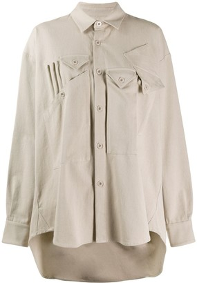 Katharine Hamnett Oversized Button Down Shirt