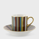 Paul Smith for Thomas Goode - Signature Stripe Bone-China Coffee Cup and Saucer