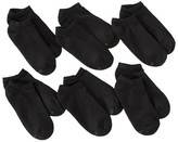 Hanes Women's 6-Pack Premium No Show Cushion Socks 706/6