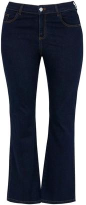 Evans Curve Indigo Bootcut Jeans
