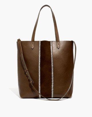 Madewell The Medium Transport Tote: Suede Inset Edition