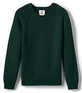 Classic Boys Drifter V-neck Pullover-Evergreen