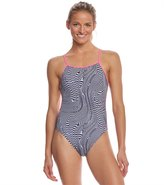 Speedo Turnz Women's Play Daze Tie Back One Piece Swimsuit 8155585