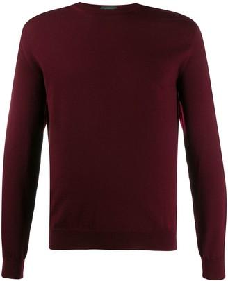 Zanone knit roll neck sweater