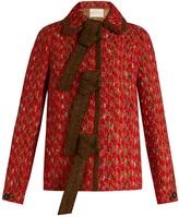 Marco De Vincenzo Wool-blend tweed jacket