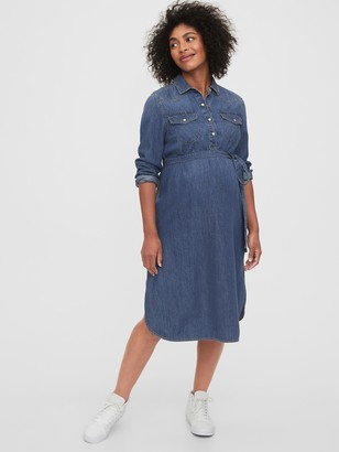 Gap Western Denim Dress