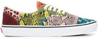 Vans UA Era mix-print sneakers