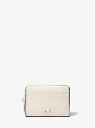 MICHAEL Michael Kors MK Small Pebbled Leather Wallet - Lt Cream - Michael Kors