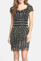 Adrianna Papell Beaded Cocktail Dress