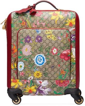 Gucci GG Flora print trolley