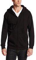 MJ Soffe Men's Fleece Full-Zip Hooded Sweatshirt